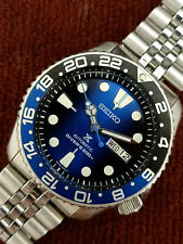 LOVELY SAVE THE OCEAN MOD SEIKO 7S26-0020 SKX007 AUTOMATIC MENS WATCH 044422