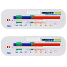 FRIDGE THERMOMETER FREEZER THERMOMETER **TWIN PACK** GREAT VALUE - IN-017