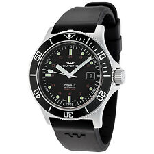Glycine Men's 3908.196.N1.D9 Combat Sub Automatic 42mm Black Dial - GL0087
