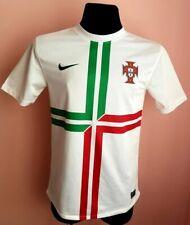 Portugal Away 2012 2013 Football Shirt Size M era RONALDO NIKE WHITE