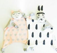 Soft Newborn Baby Velvet Rabbit Sleeping Dolls Bunny Giraffe Play Security Kids