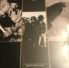 U2 vinyl set - The Joshua Tree Singles: Remastered And Live - NEW SEALED