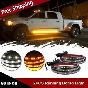 2835 SMD Truck Side Step LED Running Board Light Strip Fit Jeep GMC Honda Nissan