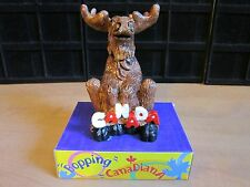 """BOBBLEHEAD CANADA MOOSE--HEIGHT 6""""---8 AVAILABLE BRAND NEW IN BOX"""