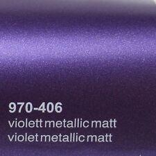 ( 18,41€/m ²) 0,5m m x 1 ,52m Oracal 970ra violeta metálico mate 406 Película