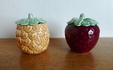 More details for sylvac marmalade & strawberry jam preserve pot. nos. 583 & 585.  freepost
