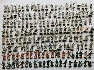 Lot soldats anciens esci italeri ww2 figurines  1/72