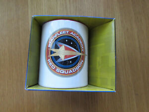 Star Trek Starfleet Academy Red Squadron Coffee Mug New FREEPOST