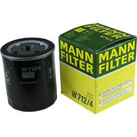 Original MANN-FILTER ÖlFILTER für Arbeitshydraulik W 712/4
