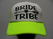 BRIDE TRIBE - ONE SIZE TRUCKER STYLE ADJUSTABLE SNAPBACK BALL CAP HAT