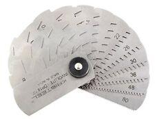 KRISTEEL Gear Tooth Modular Gauge 15 Leaves 14.5 Dp Pressure Angle