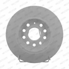 Ferodo DDF1306C Brake Disc Set Solid Coated Rear Axle Replaces 1K0615601AD