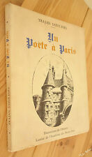 Trajan SAINT-INES Un Poète à Paris ex. de tête numéroté sur vergé ENVOI 1973