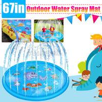 PVC Kids Rug Play Mat Cushion Soft Sprinkler Carpet Baby Educational Toddlers ❤