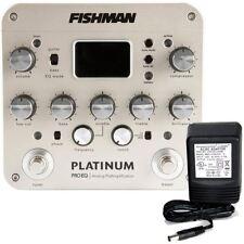 Fishman Platinum Pro EQ / DI Preamp w/9v power supply