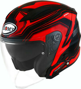 Hellcat taglia M bianco perlato CASCO scooter moto Touring JET KYT by Suomy mod