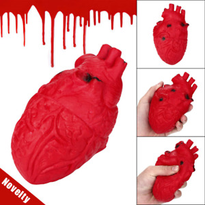 Squishy Heart Organ Toy Squeezable Stress Reliever Ball Anti Stress Squezze Toy
