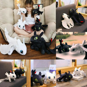 35cm How To Train Your Dragon 3 Toothless Plush Doll Night Light Fury Toys Gifts