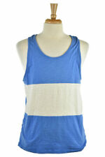 Old Navy Men Tops Tank Tops MED Blue Cotton