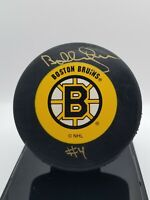 ☆Bobby Orr ☆ (HOF 1979) ☆Boston Bruins autographed puck ☆ 8 Norris Trophies!