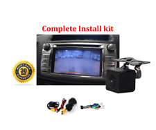 Reverse Camera NTSC Kit for Toyota Hilux Factory Screen 2014 Workmate SR & SR5
