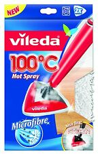 Vileda Ersatzbezug 2er Set für 100 °C Hot Spray auch für Steam
