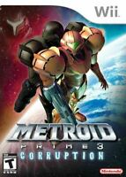Metroid Prime 3 Corruption - Original Nintendo Wii game