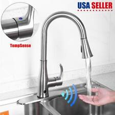 Sensor Kitchen Faucet Touch Motion Automatic Pull Spray Sink Tap Single Handle