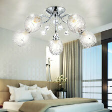 15W LED éclairage de salon Lustre Luminaire De Plafond 5 Boules Luxe