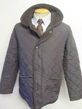 "Barbour D311 Polarquilt Quilted jacket S 36"" Euro 46 in Brown"
