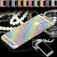Full Body Glitter Bling Sticker Wrap Protector Case Cover Skin for iPhone Models