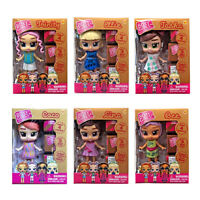 BOXY GIRLS MINIS - 6 CHARACTER - LINA,TRINITY, BEE, TASHA, ELLIE & COCO  **NEW**