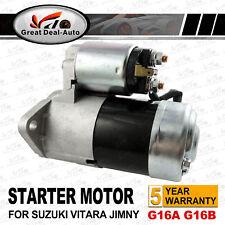 STARTER MOTOR FOR SUZUKI GRAND VITARA SQ416 G16B SE416 G16A SWIFT SF416 1.6L