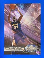 1997-98 Metal Universe #98 Reggie Miller Indiana Pacers HOF NM-MT