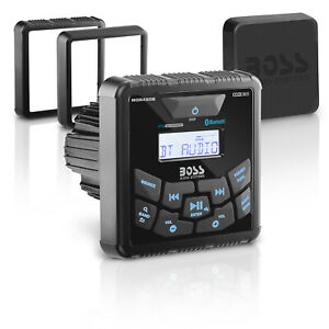 BOSS Audio Systems MGR450B in-Dash, Marine Gauge, Bluetooth, Digital Media MP3 /