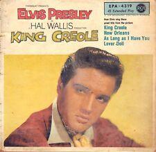 "7"" Elvis Presley – EP: King Creole / RCA 4319 // Germany 1958"