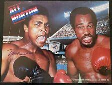 Muhammad Ali Signed 1976 On-Site Boxing Program vs Ken Norton Yankee Stadium JSA