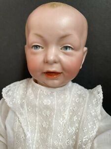 Antique German Kammer & Reinhardt 36 100 Kaiser Character Baby Doll