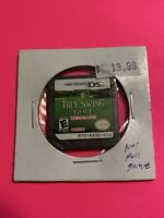 🔥 Nintendo DS NOT FOR RESALE - 💯 AUTHENTIC GAME NFR - TRUE SWING GOLF 🔥
