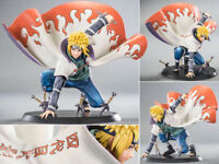Naruto Shippuden Namikaze Minato Naruto Xtra Figurine Statue No Box