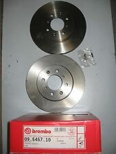 PAIR OF BREMBO FRONT BRAKE DISCS 09.5457.10 TO FIT ROVER 200,400 1990-1999