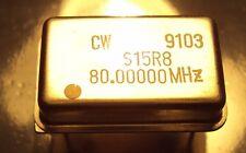 Connor Winfield S15R8-80.0 MHz S15R8 80MHz 5V HCMOS TTL XTAL Oscillator NEW