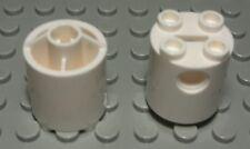 Lego Stein rund 2x2x2 Weiss 2 Stück                                      (535 #)