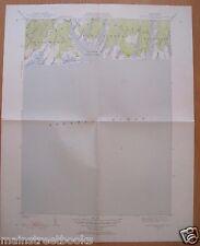 MARTHA'S VINEYARD Tisbury Great Pond MA TOPOGRAPHICAL MAP 1951 RARE VINTAGE MAP