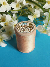 696B / Beautiful Coil Old Thread DMC Cotton Alsa No. 40 Pink Layette No. 771