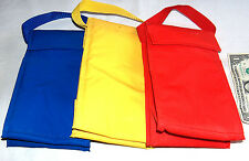 3 Multi Color Insulated School Work Carry Lunch Box Bags Picnic Food Container