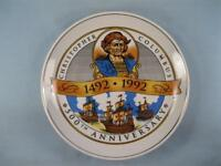Christopher Columbus 500th Anniversary Decorative Collector Plate 1492-1992 (O)