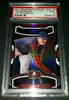 """2012 Bowman Platinum #TP-TB- Trevor Bauer """"Top Prospects"""" RC! PSA MINT 9!"""