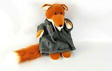 Rare Vintage Basil Brush Plush Fox Doll Pencil Holder/Case