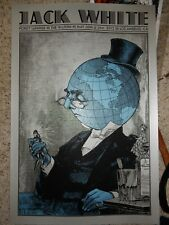 Jack White Poster The Wiltern 2012 Robert Jones